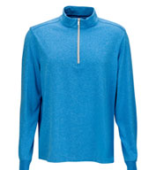 Custom Greg Norman Heathered 1/4-Zip Pullover