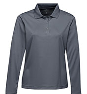 Lady Vital Long Sleeve Snap Polo