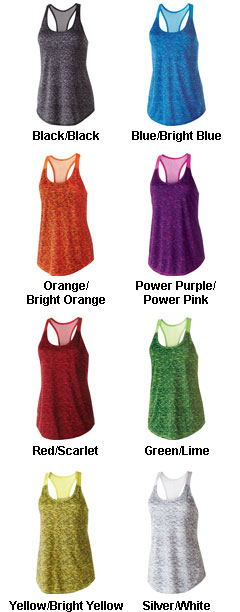 Ladies Space Dye Tank - All Colors