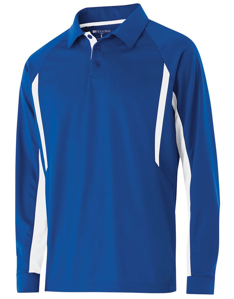 Adult Long Sleeve Avenger Polo