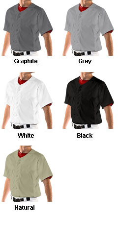 Youth Reliever Full Button Baseball Jersey - All Colors