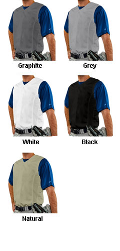 Youth Reliever Sleeveless Baseball Jersey - All Colors