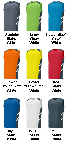 Oblique Sleeveless Jersey - All Colors