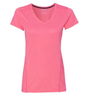 Gildan Tech Performance Womens Short Sleeve V-Neck