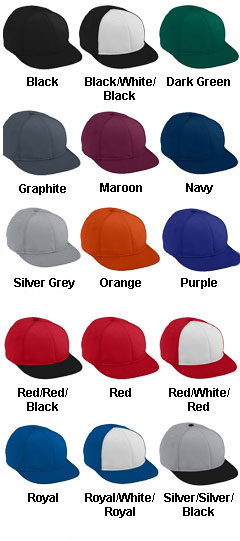 Adult Athletic Mesh Flat Bill Cap - All Colors