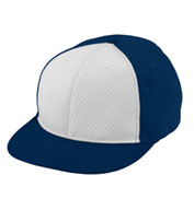 Custom Youth Athletic Mesh Flat Bill Cap