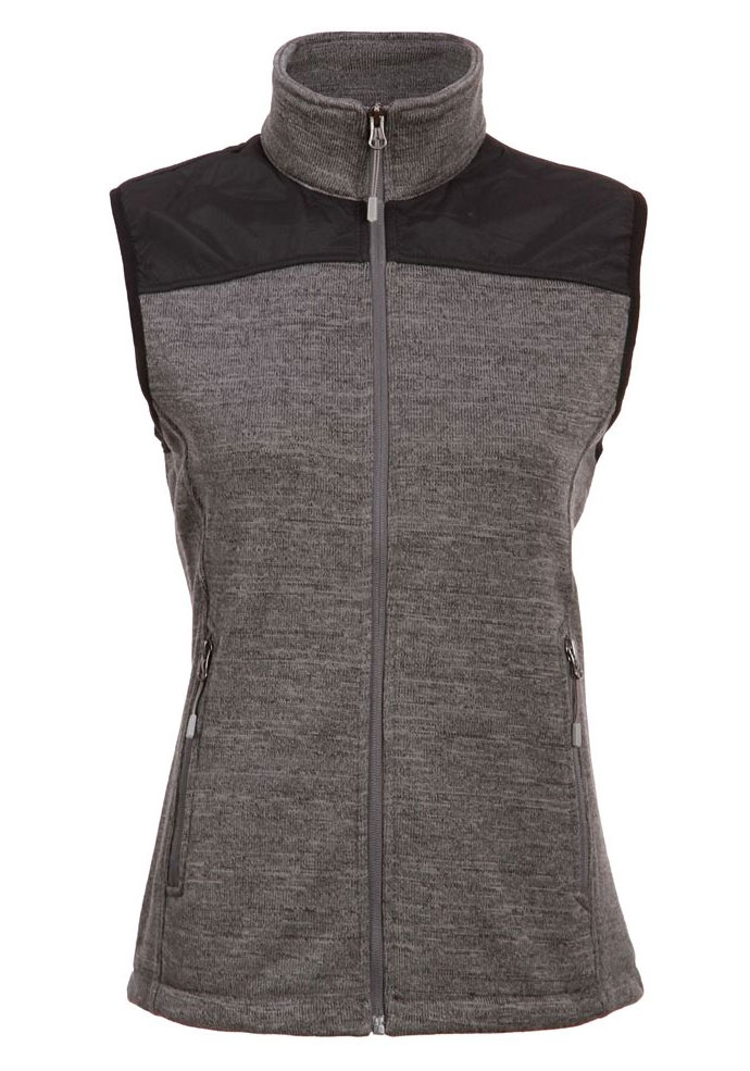 Ladies  Capitan Sweater Fleece Vest