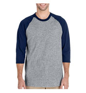 Heavy Cotton Three-Quarter Raglan