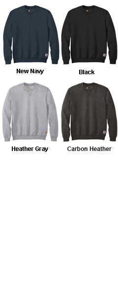 Carhartt Midweight Crewneck Sweatshirt - All Colors