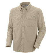 Custom Mens Columbia Silver Ridge Long Sleeve Shirt