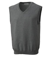 Custom Mens Broadview V-neck Sweater Vest
