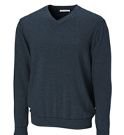 Custom Big and Tall Mens Broadview V-neck Sweater
