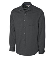 Custom Mens Long-Sleeve Tailored Fit Spread Nailshead