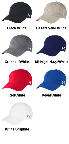 Under Armour Adjustable Chino Cap - All Colors