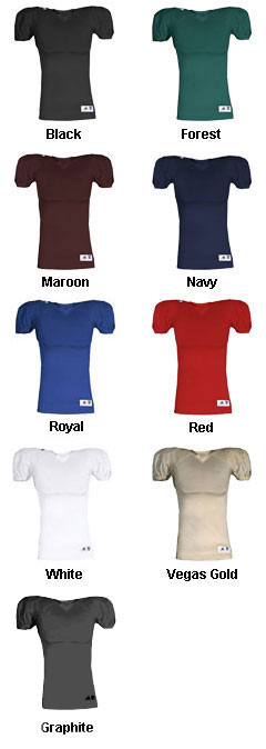 Adult Solid Football Jersey - All Colors