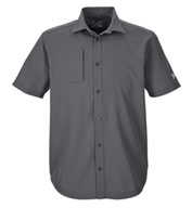 Custom Mens Under Armour Ultimate Short Sleeve Buttondown