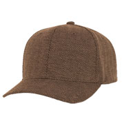Custom Casual Structured Herringbone Cap