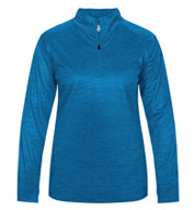 Custom Ladies Tonal Blend 1/4 Zip Pullover