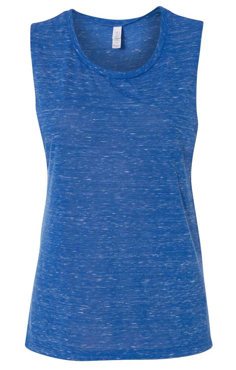 Bella + Canvas Womens Flowy Scoop Muscle Tank