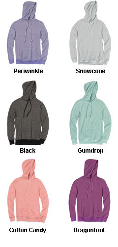 Ladies Snowflake Terry Pullover - All Colors