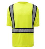 Class 2 New Onyx Short Sleeve Shirt w/Segment Tape