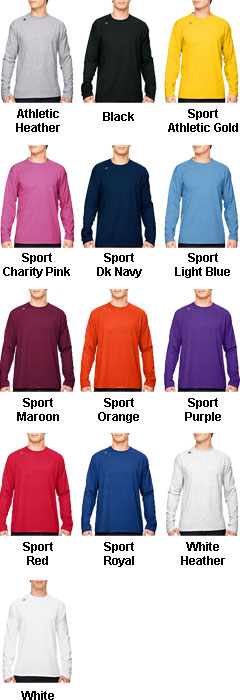 Champion Vapor® Cotton Long-Sleeve T-Shirt - All Colors