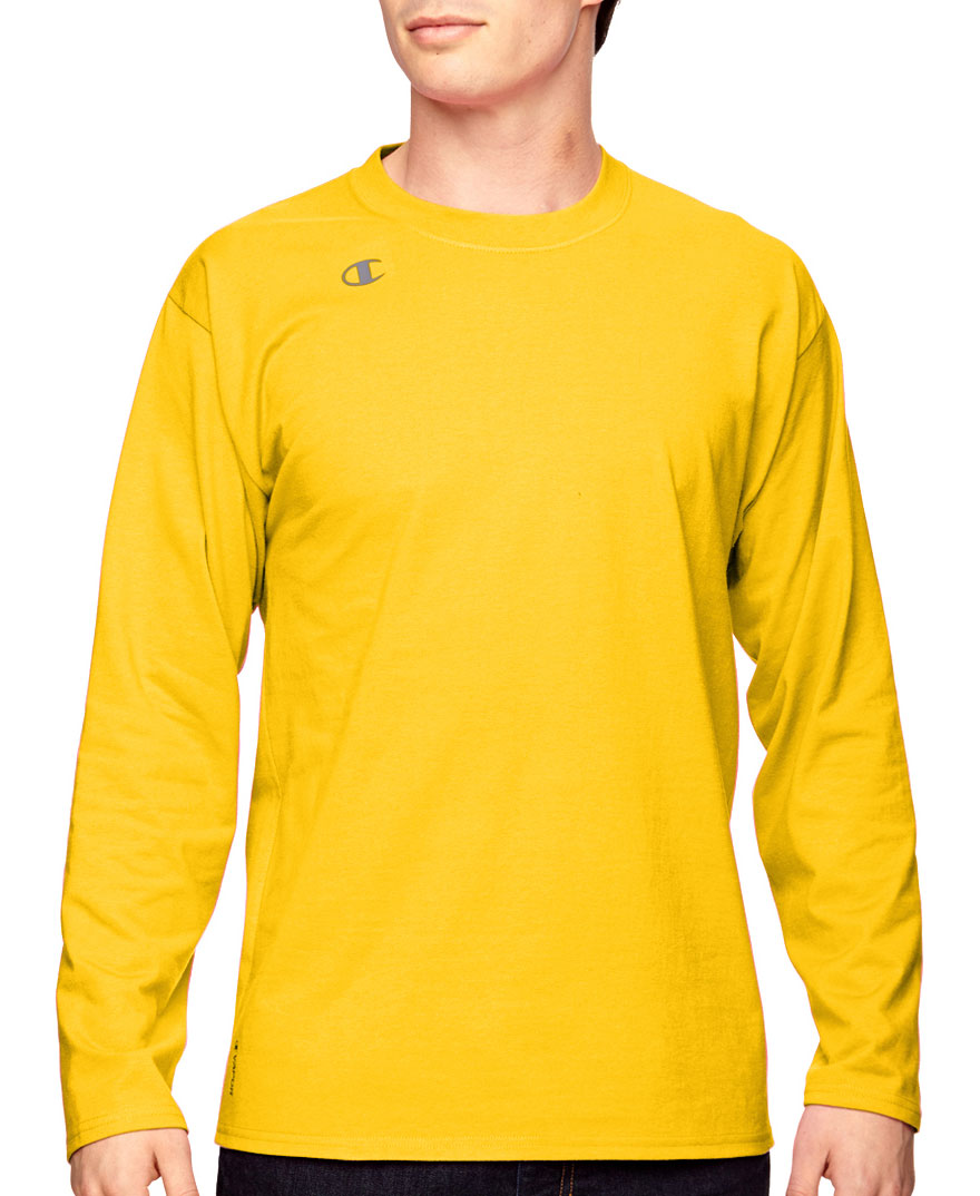 Champion Vapor® Cotton Long-Sleeve T-Shirt