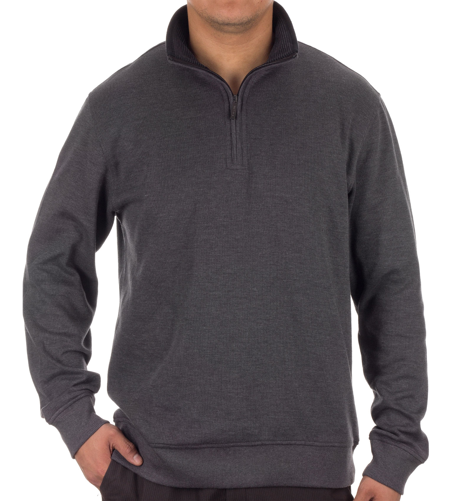 Van Heusen Mens 1/4-Zip Sweater