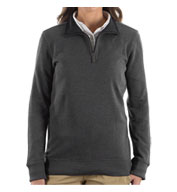 Van Heusen Ladies 1/4-Zip Sweater
