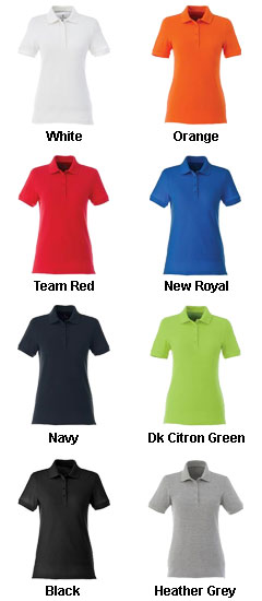 Womens Belmont Short Sleeve Polo - All Colors