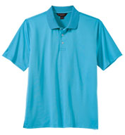 Custom Brooks Brothers Mens Solid Jersey Short Sleeve Polo