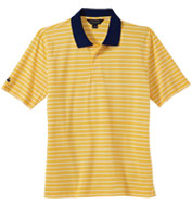 Brooks Brothers Mens Uneven Bar Stripe Polo
