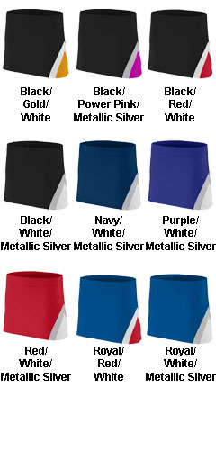 Ladies Cheerflex Skirt - All Colors