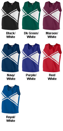 Girls Explosion Shell Top - All Colors