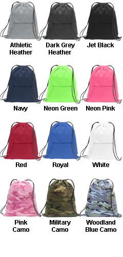 Sweatshirt Cinch Pack - All Colors