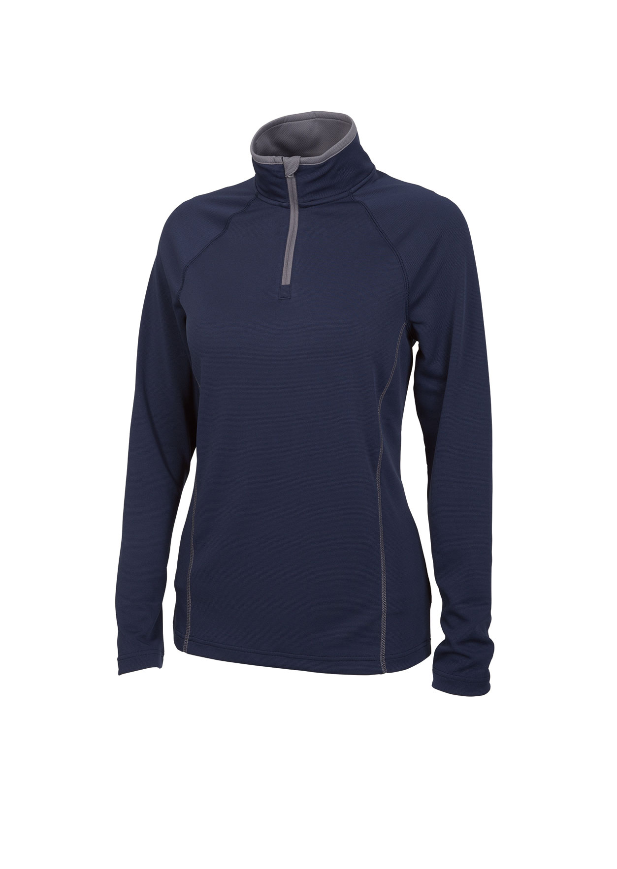 Womens Fusion Pullover by Charles River