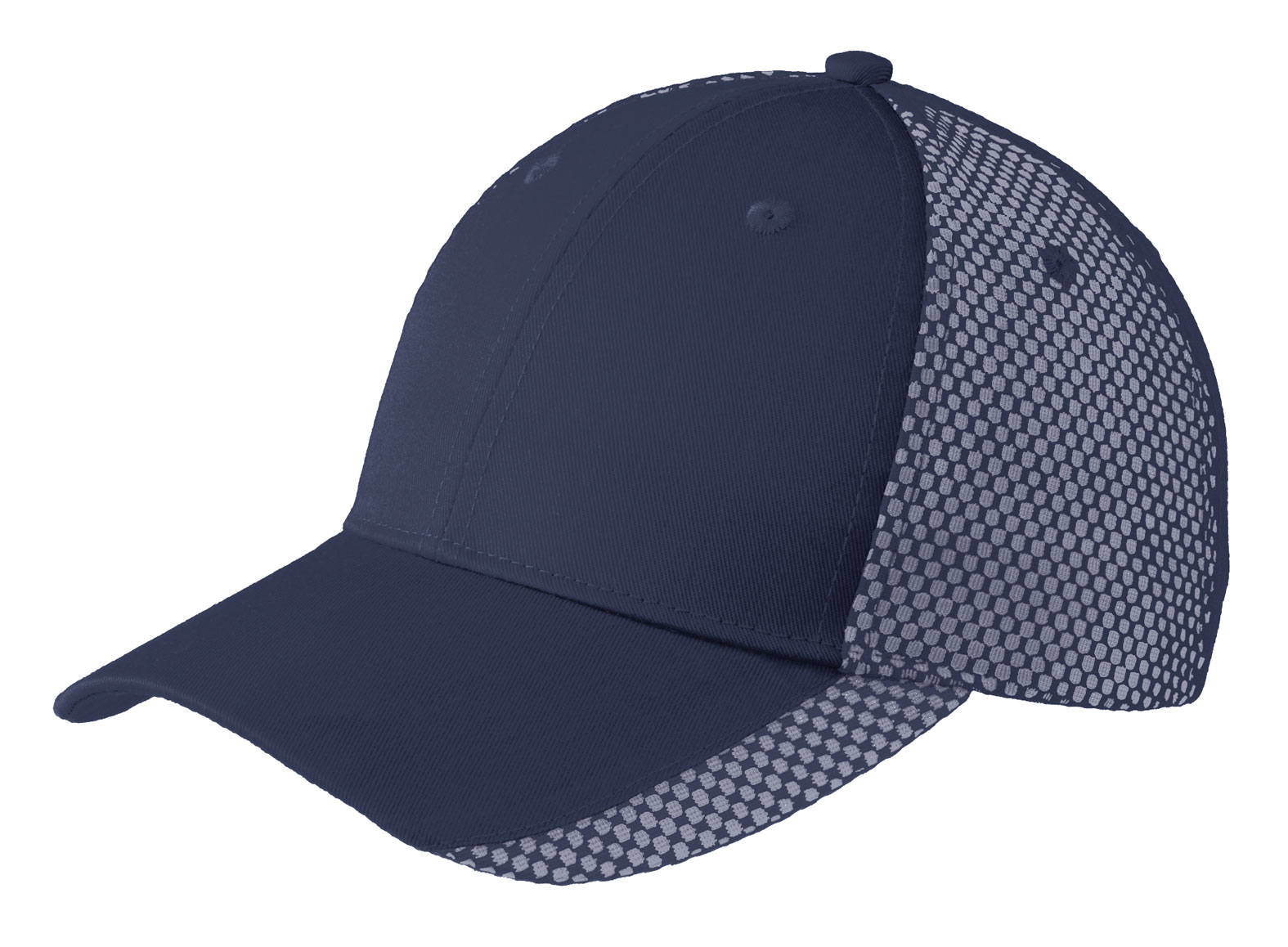 Two-Color Mesh Back Cap