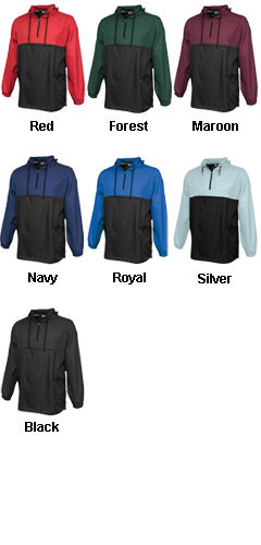 Adult Colorblock Anorak Jacket - All Colors