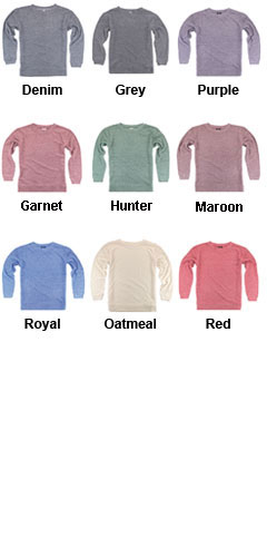 Womens Cozy Crew - All Colors