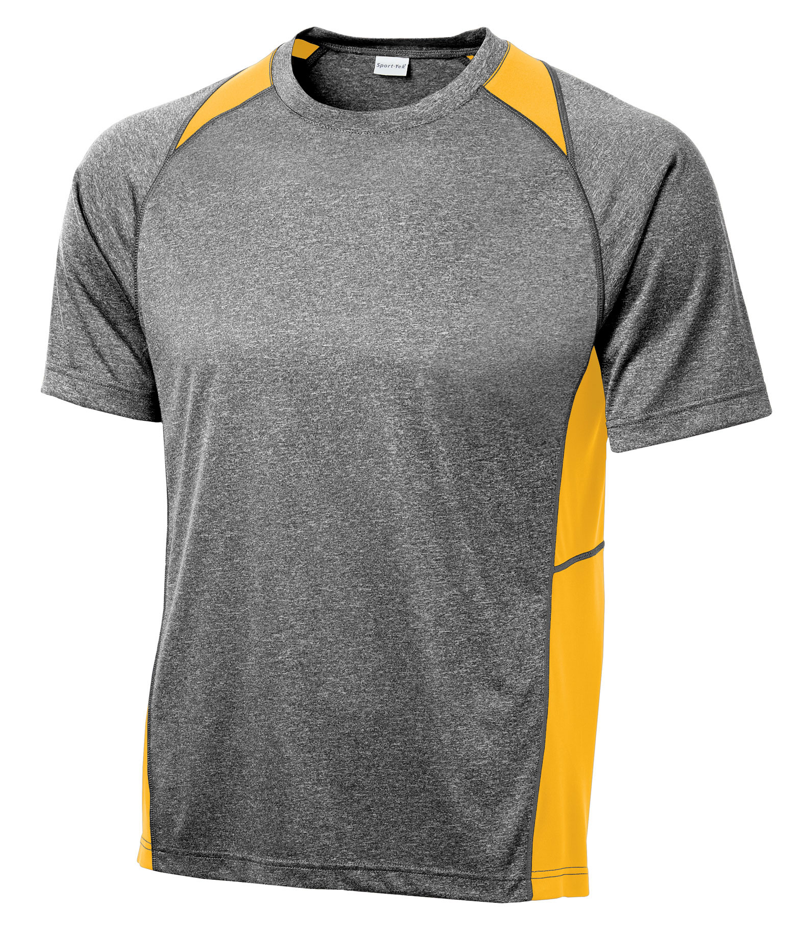 Heather Colorblock Contender� Tee