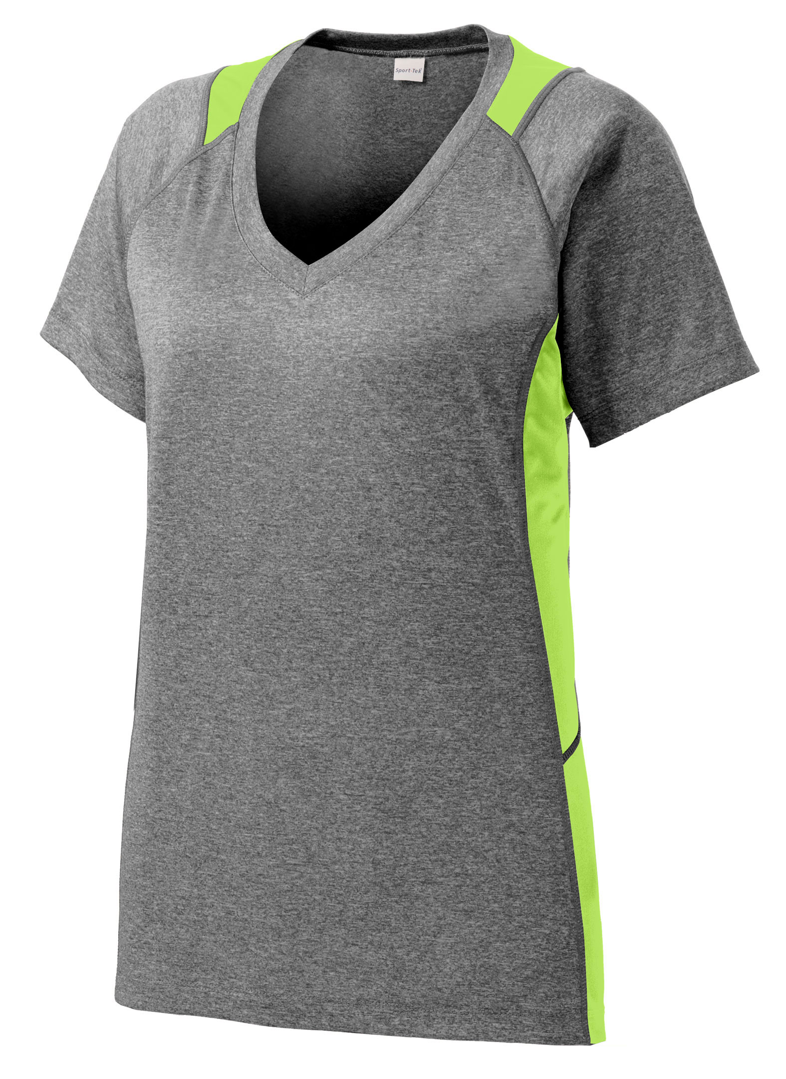 Ladies Heather Colorblock Contender� Tee