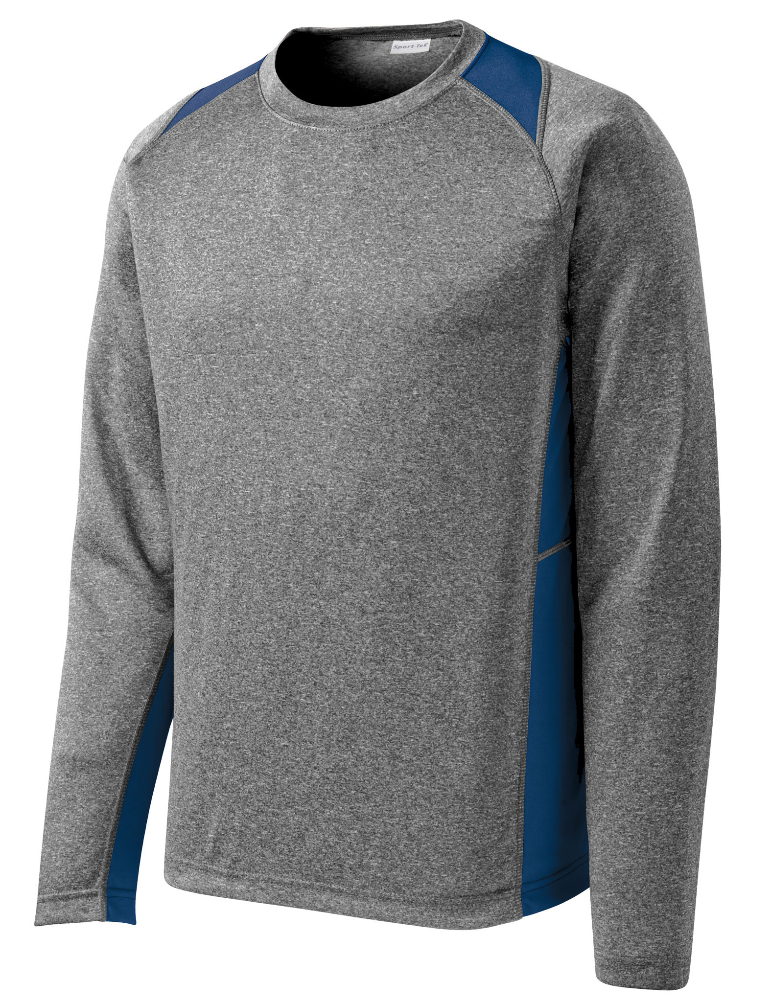 Long Sleeve Heather Colorblock Contender� Tee