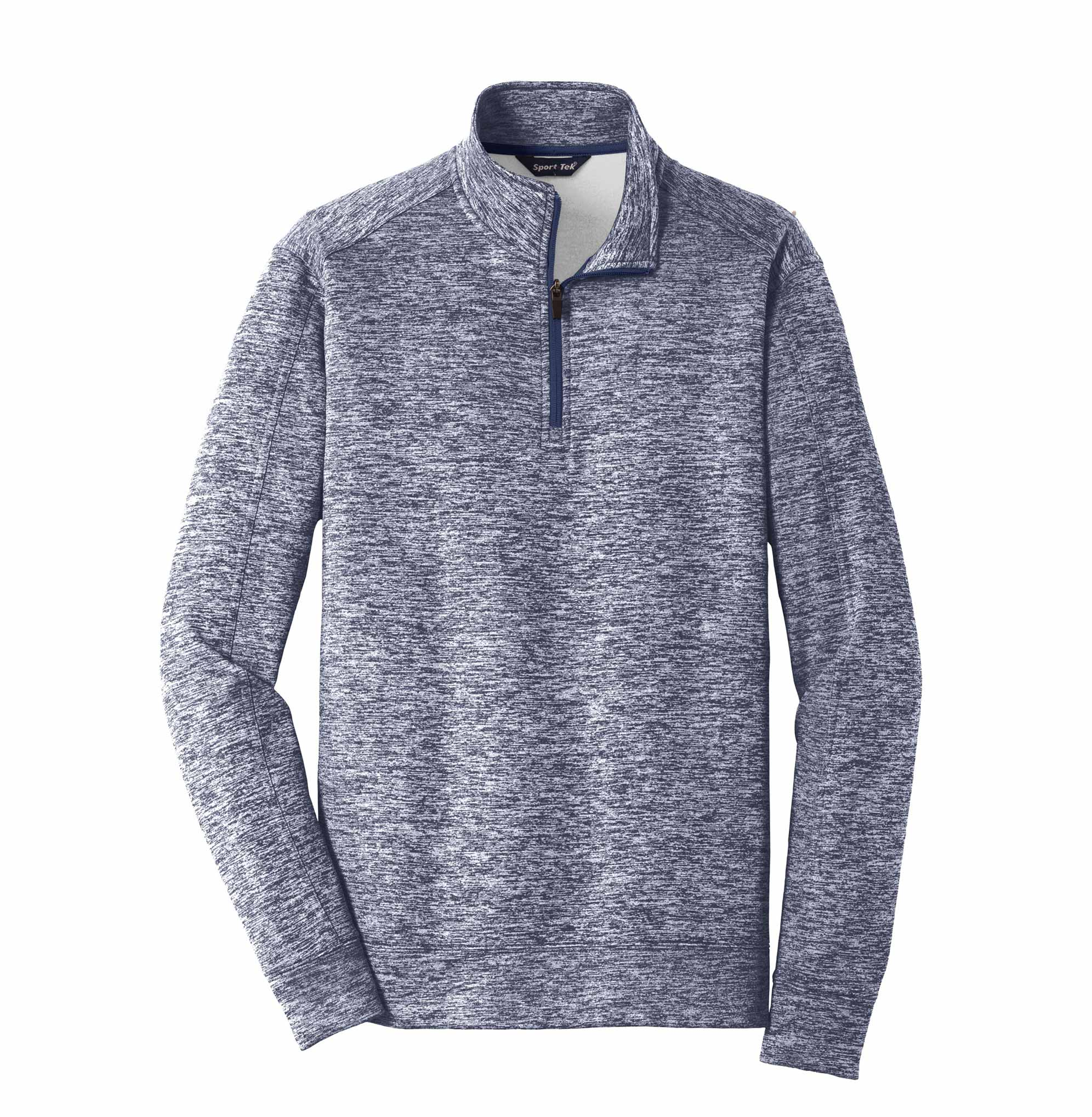 Adult Sport-Tek PosiCharge Electric Heather Fleece 1/4-Zip Pullover
