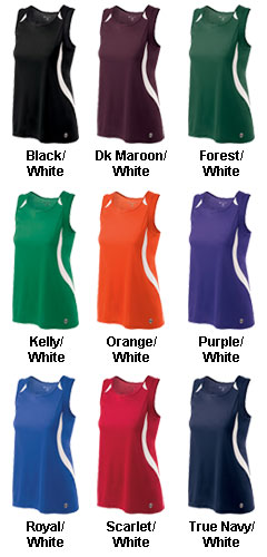 Ladies Sprint Singlet - All Colors