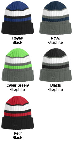New Era� Ribbed Tailgate Beanie - All Colors