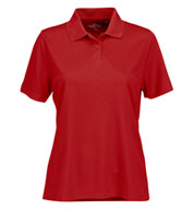 Custom Womens Vansport™ Omega Solid Mesh Tech Polo