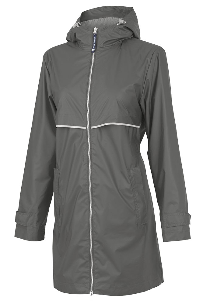 Womens New Englander Raincoat by Charles River Apparel