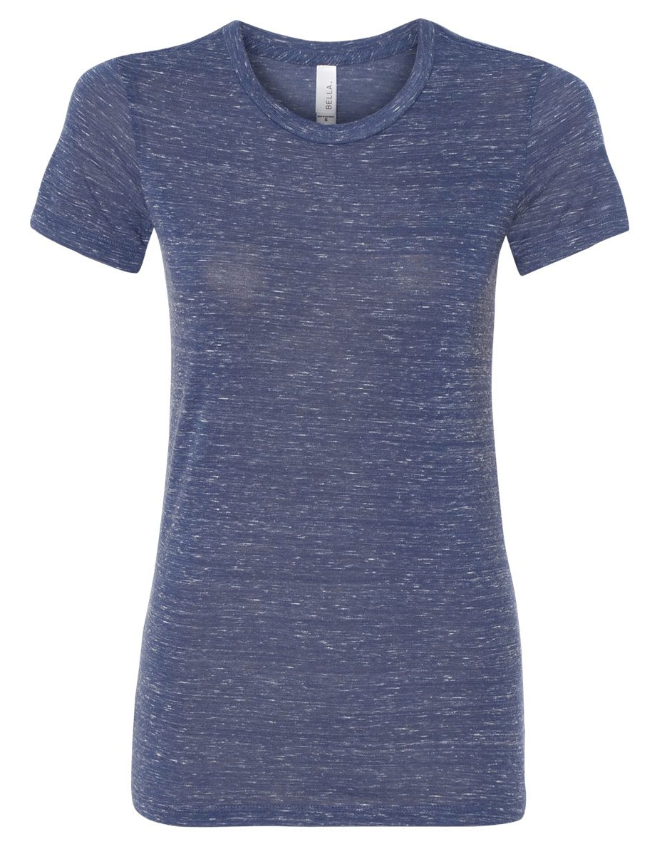 Bella + Canvas Womens Cotton/Poly Tee