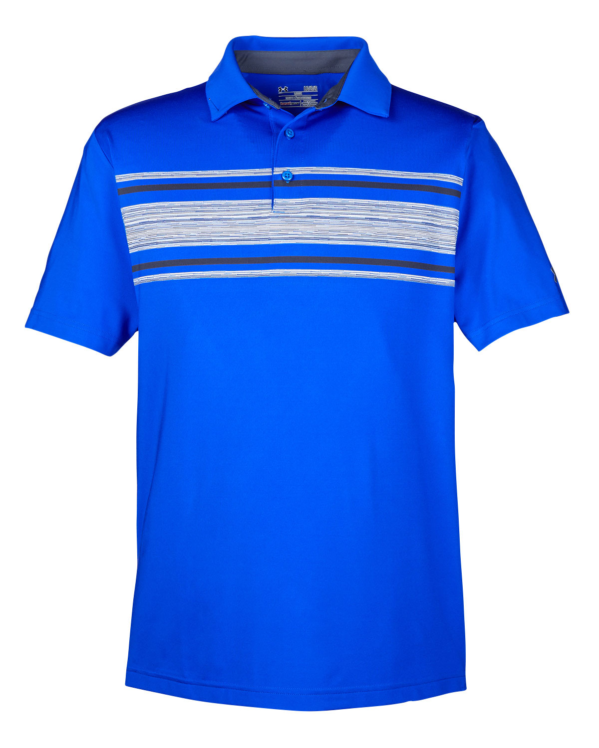 Mens Under Armour Playoff Space Dye Polo
