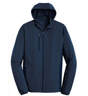Custom Adult Active Hooded Soft Shell Jacket
